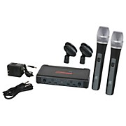 Galaxy Audio ECD Dual Channel UHF Wireless System with Dual HH38 Handhelds