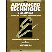 Hal Leonard EE Advanced Technique for Strings Cello