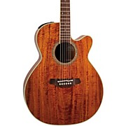 Takamine EF508KC NEX Legacy Series All Koa Acoustic-Electric Guitar
