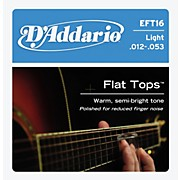 D'Addario EFT16 Flat Top PB Light Acoustic Guitar Strings