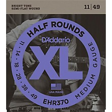 D'Addario EHR370 Guitar Strings Half Rounds Medium