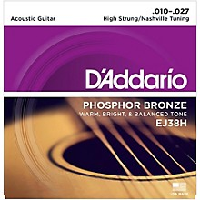 D'Addario EJ38H High Strung/Nashville Tuning 10-27 Acoustic Guitar Strings