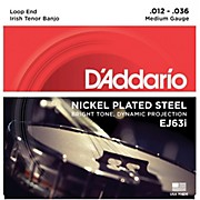 D'Addario EJ63i Nickel Irish Tenor Banjo Strings (9-30)