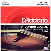 D'Addario EJ76 Phosphor Bronze Medium Mandola Strings (15-52)