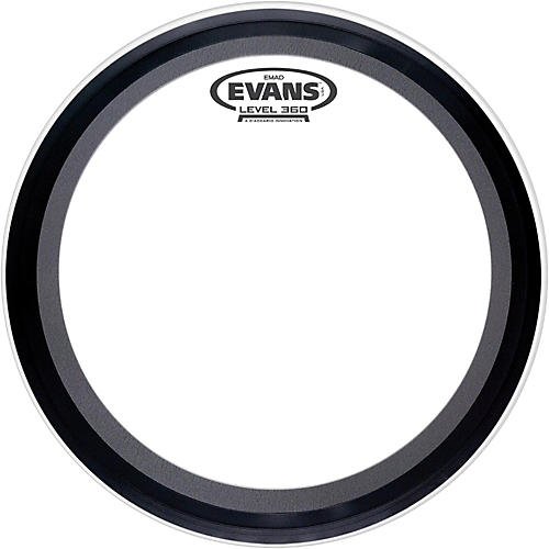 Evans EMAD 2 Clear Batter Bass Drum Head
