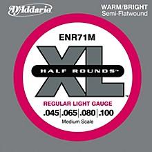 D'Addario ENR71M Half Rounds Light Bass Strings