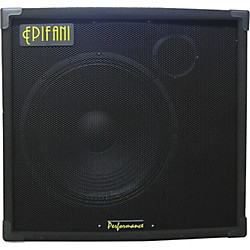 "EPIFANI PS 115 1x15"" Bass Speaker Cabinet with Tweeter (PS115)"