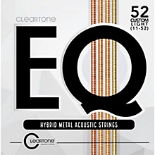 Cleartone EQ - Hybrid Metal Series Custom Light Acoustic Guitar Strings (11-52)