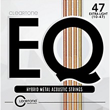 Cleartone EQ - Hybrid Metal Series Light Acoustic Guitar Strings (12-53)