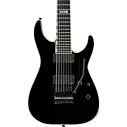 ESP E-II Horizon FR-7 7 String Electric Guitar with Floyd Rose (EIIHORFR7BLK)