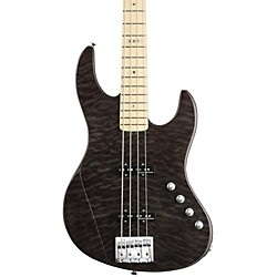 ESP E-II J-4 Electric Bass Guitar (EIIJ4QMSTBLK)