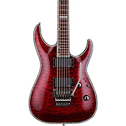 ESP LTD Deluxe H-1001QM Floyd Rose Electric Guitar (LH1001FRSTBC)