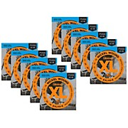 D'Addario EXL110-E Bonus Pack: Light Electric Guitar Strings 10 Pack with 10 Bonus High E Strings (10-46)