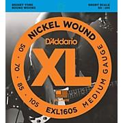 D'Addario EXL160S XL Short Bass String Set