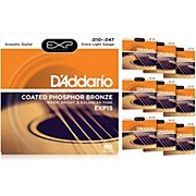 D'Addario EXP15 Acoustic Strings 10 Pack