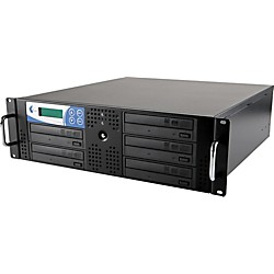 EZ Dupe 5 Target Rack DVD and CD Rack Mount Duplication System (RK5TDVDSAMB)