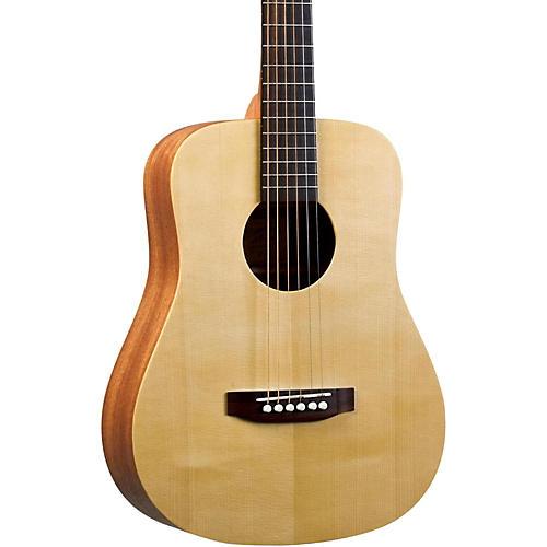 Recording King EZ Tone RD-A3MQ Mini Dreadnought Acoustic Guitar Natural-thumbnail