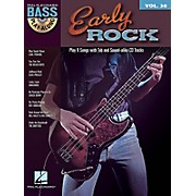 Hal Leonard Early Rock - Bass Play-Along Series Volume 30 Book/CD