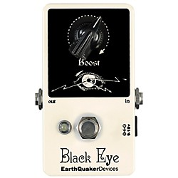 EarthQuaker Devices Black Eye Clean Boost Guitar Effects Pedal (EQDBLAC)