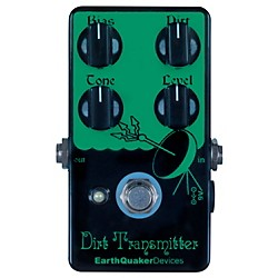 EarthQuaker Devices Dirt Transmitter Fuzz Guitar Effects Pedal (EQDDIRT)