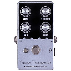 EarthQuaker Devices Disaster Transport JR Delay Guitar Effects Pedal (EQDDTJR)