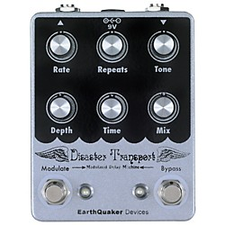 EarthQuaker Devices Disaster Transport Modulated Delay Guitar Effects Pedal (EQDDSTR)