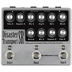 Earthquaker Devices Disaster Transport SR Advanced  Modulated Delay & Reverb Guitar Effects Pedal (EQDDTSR)