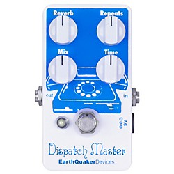 Earthquaker Devices Dispatch Master Delay and Reverb Guitar Effects Pedal (EQDDISP)