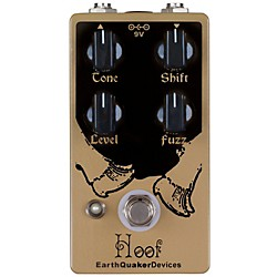 Earthquaker Devices Hoof - Germanium/Silicon Hybrid Fuzz Guitar Effects Pedal (EQDHOOF)