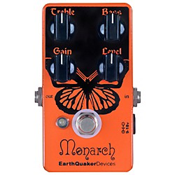 Earthquaker Devices Monarch Overdrive Guitar Effects Pedal (EQDMONA)