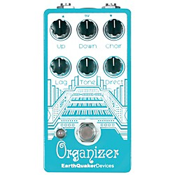 Earthquaker Devices Organizer Polyphonic Organ Emulator Guitar Effects Pedal (EQDORGA)