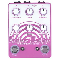 Earthquaker Devices Rainbow Machine Polyphonic Pitch Mesmerizer Guitar Effects Pedal (EQDRAIN)