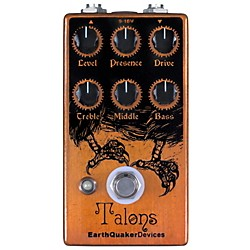 Earthquaker Devices Talons Overdrive Guitar Effects Pedal (EQDTALO)