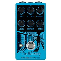 Earthquaker Devices Warden Optical Compressor Guitar Effects Pedal (EQDWARD)