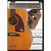 MJS Music Publications Easy Acoustic Guitar DVD: Beginner Basics and Beyond