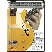 MJS Music Publications Easy Bass Guitar Theory (DVD)