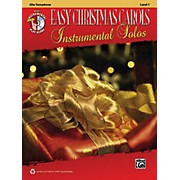 Alfred Easy Christmas Carols Instrumental Solos Alto Sax Book & CD
