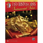 Alfred Easy Christmas Carols Instrumental Solos Trombone Book & CD