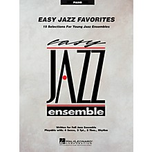 Hal Leonard Easy Jazz Favorites - Piano Jazz Band Level 2 Composed by Various