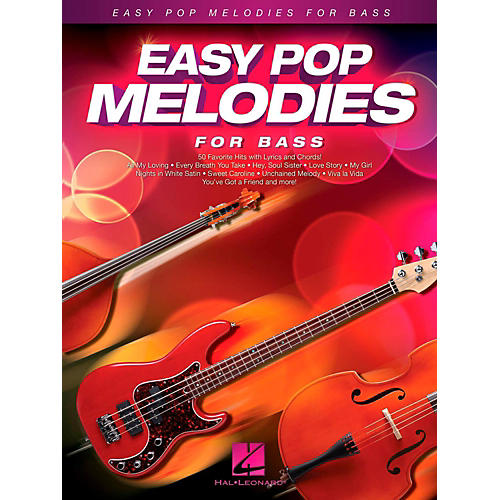 Hal Leonard Easy Pop Melodies For Bass-thumbnail