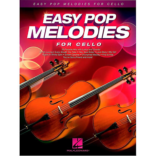 Hal Leonard Easy Pop Melodies For Cello-thumbnail