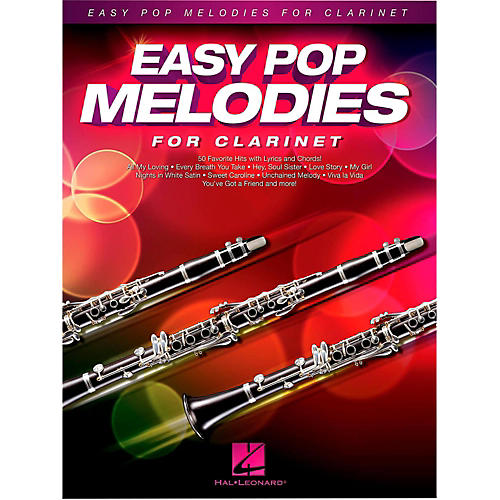 Hal Leonard Easy Pop Melodies For Clarinet-thumbnail
