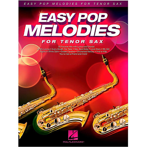 Hal Leonard Easy Pop Melodies For Tenor Sax-thumbnail