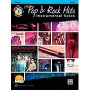 Alfred Easy Pop & Rock Instrumental Solos Trumpet Book & CD