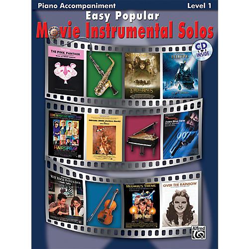 Alfred Easy Popular Movie Instrumental Solos-thumbnail