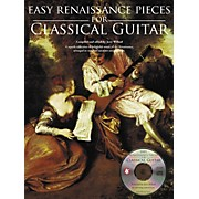 Music Sales Easy Renaissance Pieces For Classical Guitar (Book/CD)