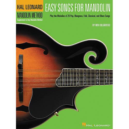 Hal Leonard Easy Songs for Mandolin Tab Method Supplement-thumbnail