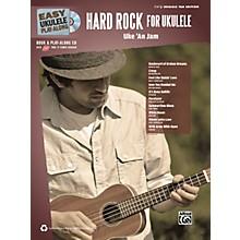 Alfred Easy Ukulele Play-Along Hard Rock for Ukulele Book & CD