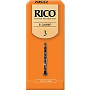 Rico Eb Clarinet Reeds, Box of 25
