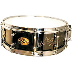 Eccentric Systems Design Black Leaf Brass Snare Drum (ESBL)